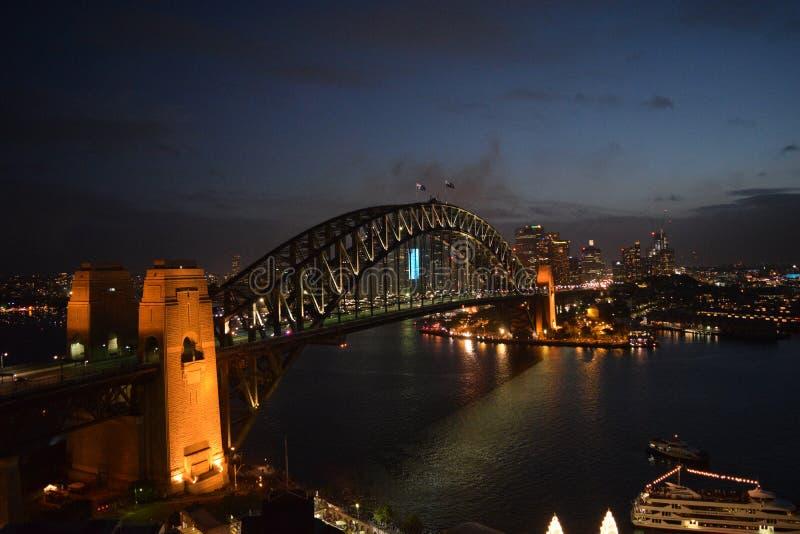 Sydney Harbour Bridge stock foto