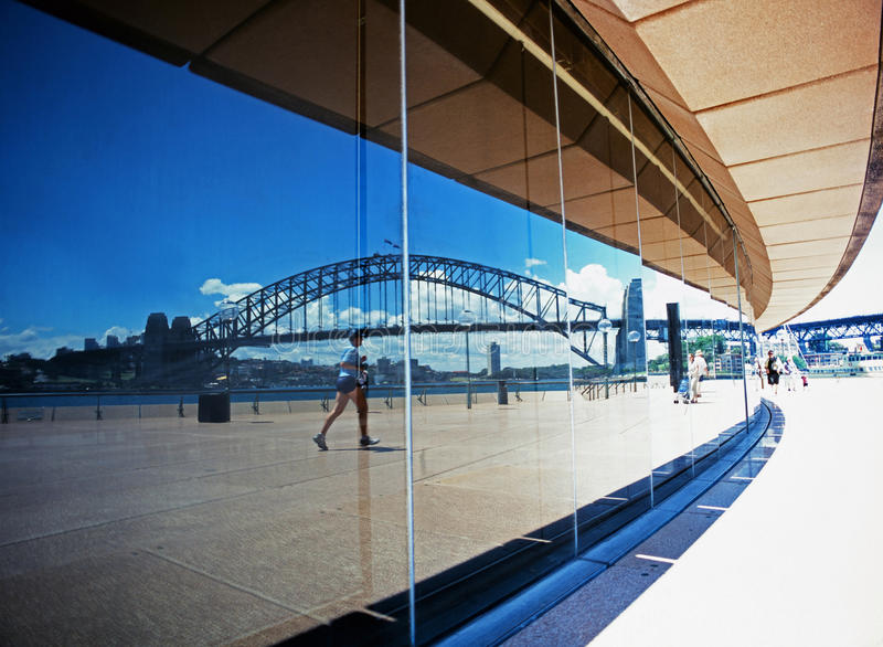 Sydney Harbour Bridge fotos de archivo