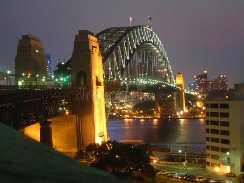 Download Sydney harbour bridge stock photo. Image of landmarks, lights - 512796