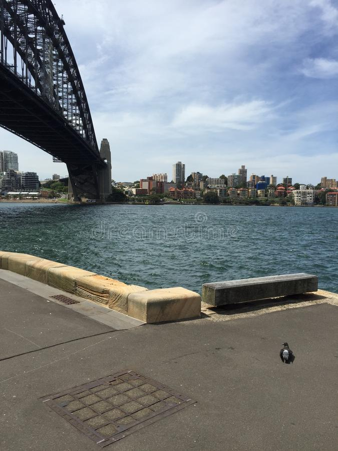 Sydney Harbour Bridge stockfotografie