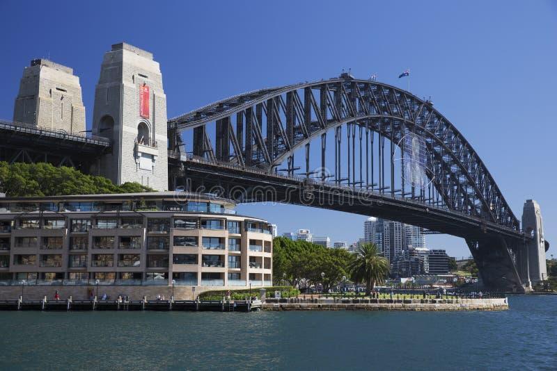 Sydney Harbour Bridge, Australie images stock