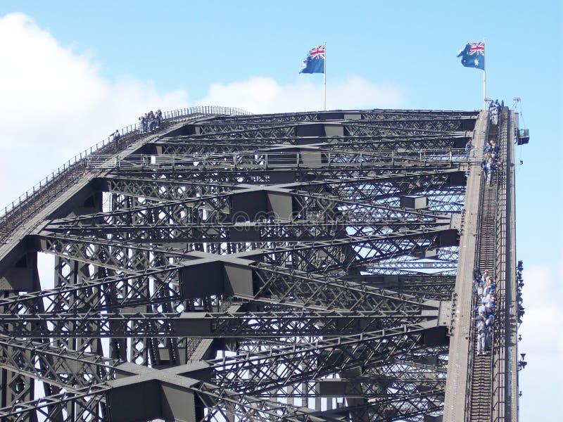 Sydney Harbour Bridge Climb fotografía de archivo libre de regalías