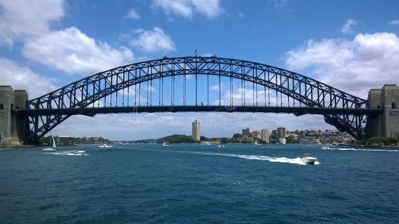 Sydney Harbour Bridge NSW Australien royaltyfria foton