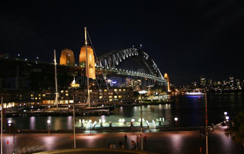 The Sydney Harbour Bridge from the Rocks, Sydney royalty free stock image