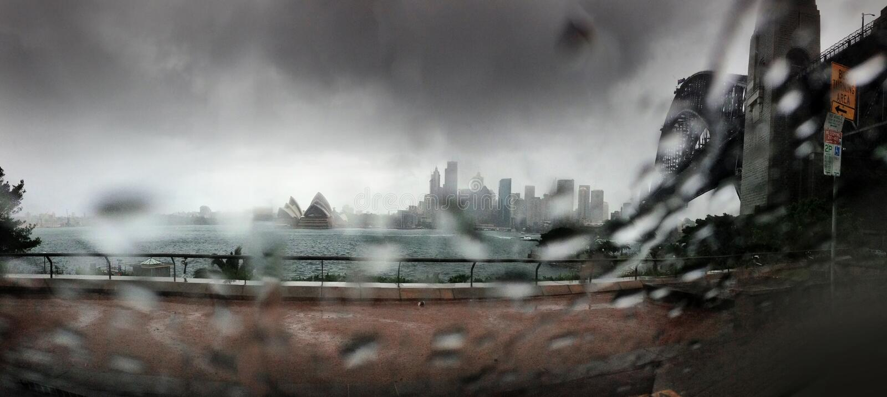 Sydney Harbour Bridge Travel imagem de stock