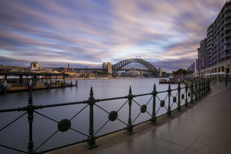 Sydney Harbour Quiet royalty-vrije stock afbeelding