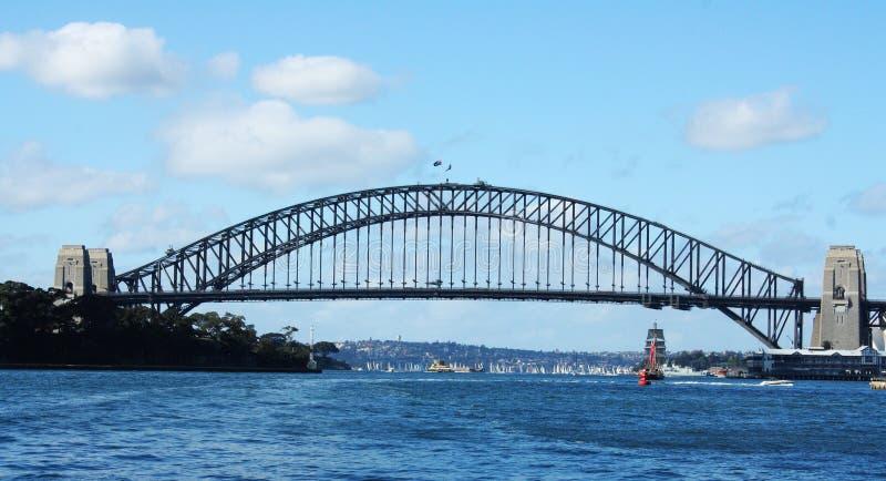 Sydney Harbour and Sydney Harbour Bridge royalty free stock photo