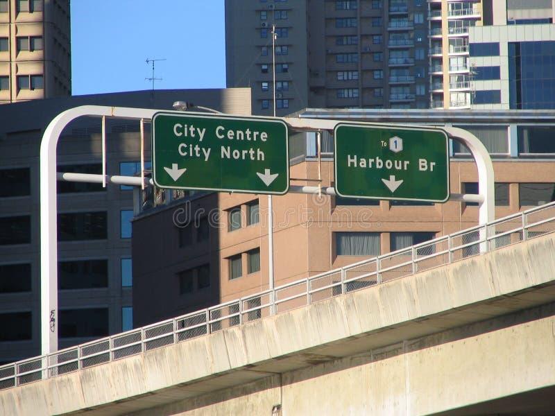 Sydney highway fotografia stock