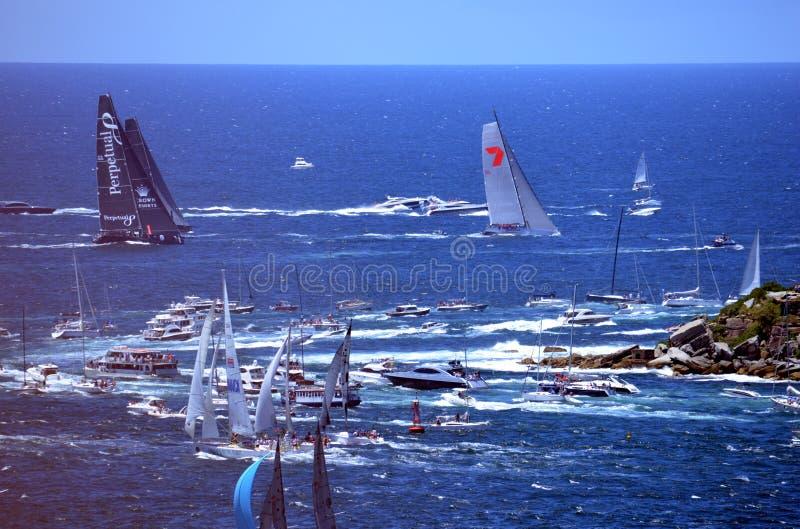Sydney Hobart Yacht Race 2013 arkivbilder