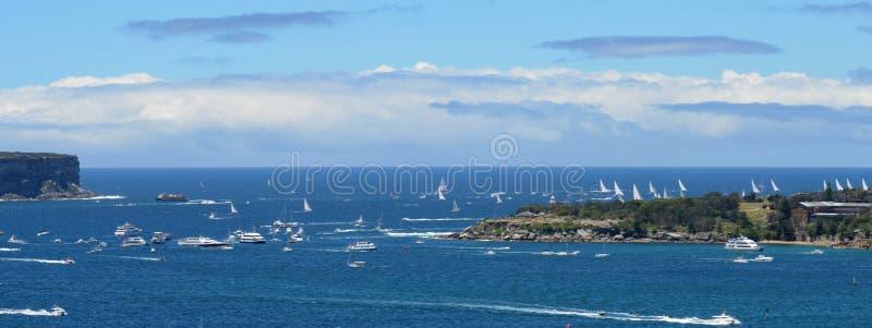 Sydney Hobart Yacht Race 2013 fotografering för bildbyråer