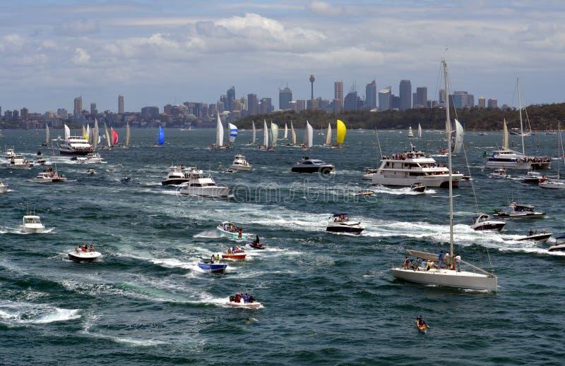 Sydney Hobart Yacht Race 2012 arkivbild