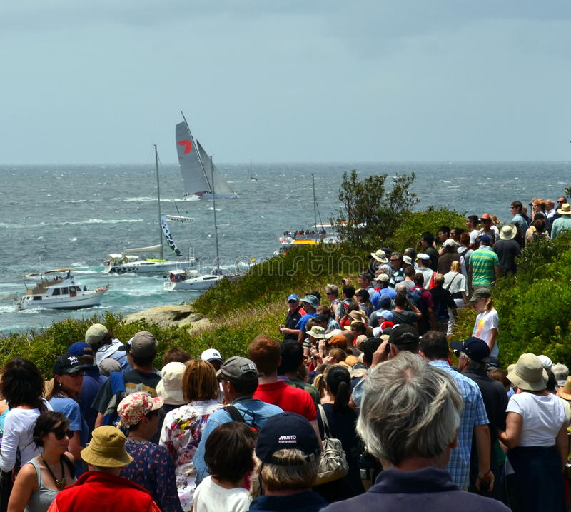 Sydney Hobart Yacht Race 2012 arkivfoto