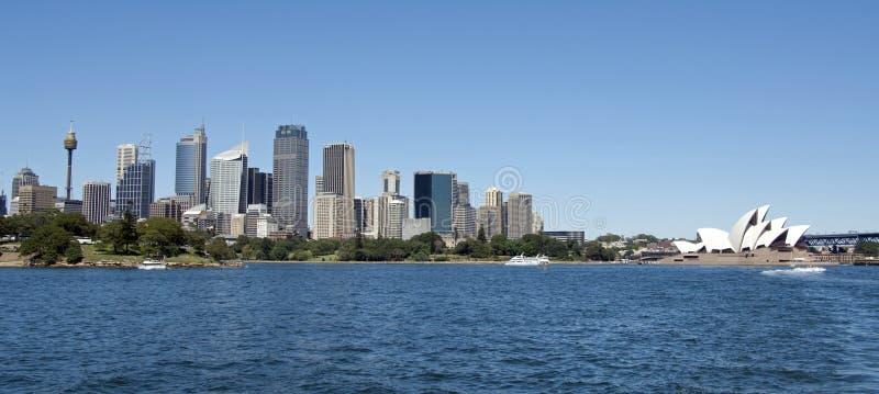 Sydney horisont arkivbild