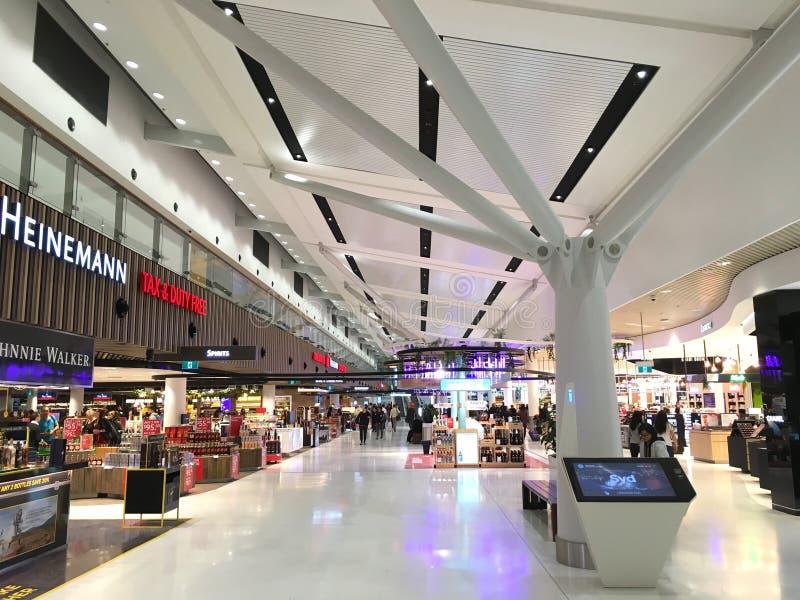 Sydney Kingsford Smith International Airport fotografía de archivo