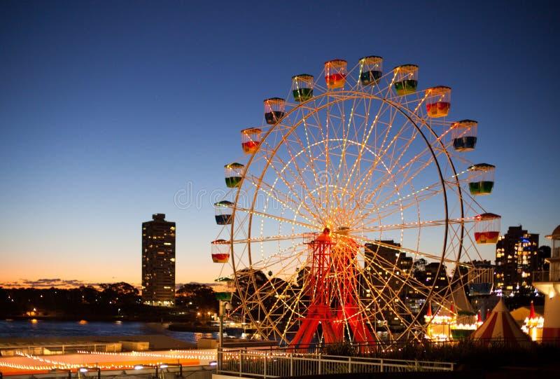 Sydney Luna Park arkivfoton