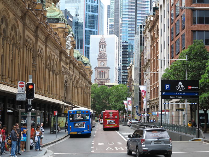 Sydney miasta scena obraz stock