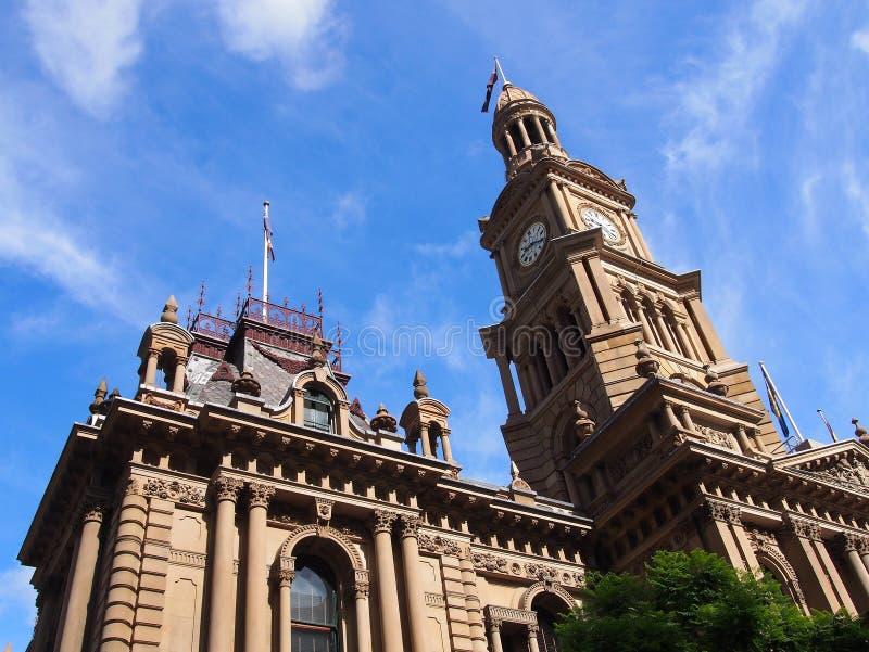 Sydney miasta urząd miasta zdjęcia stock