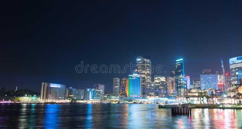 Sydney miasto w Żywym przedstawieniu obrazy stock