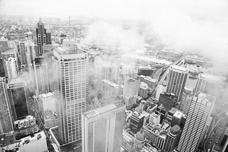 Download Sydney in the mist stock photo. Image of architecture - 17938122