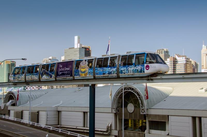 Sydney Monorail image libre de droits