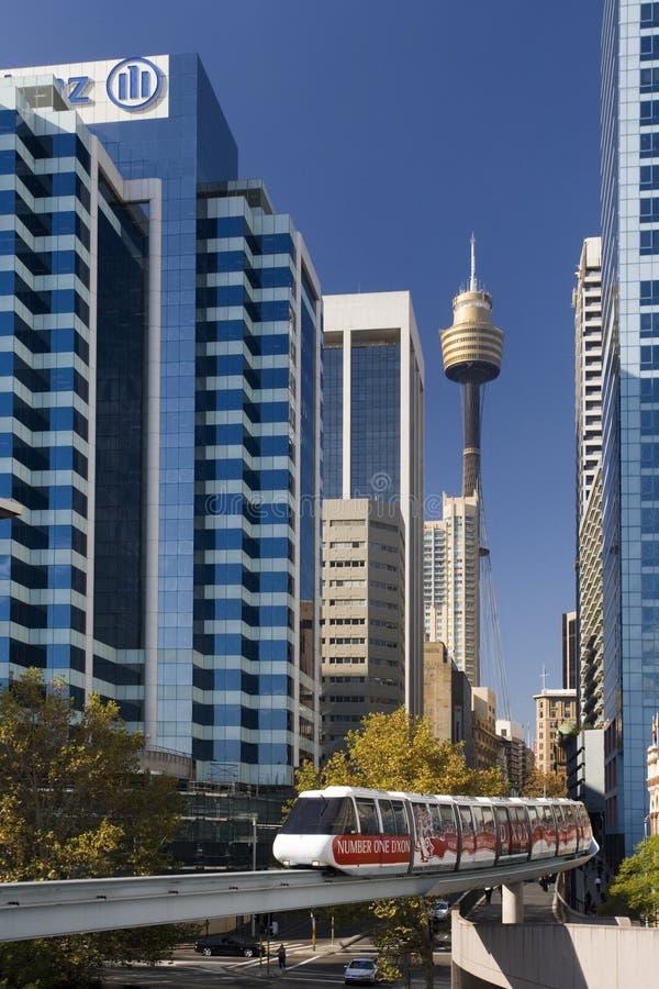 Sydney - monotrilho - Austrália fotos de stock