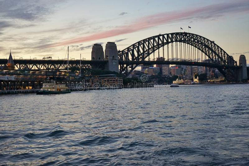 Sydney mosta schronienie obrazy stock