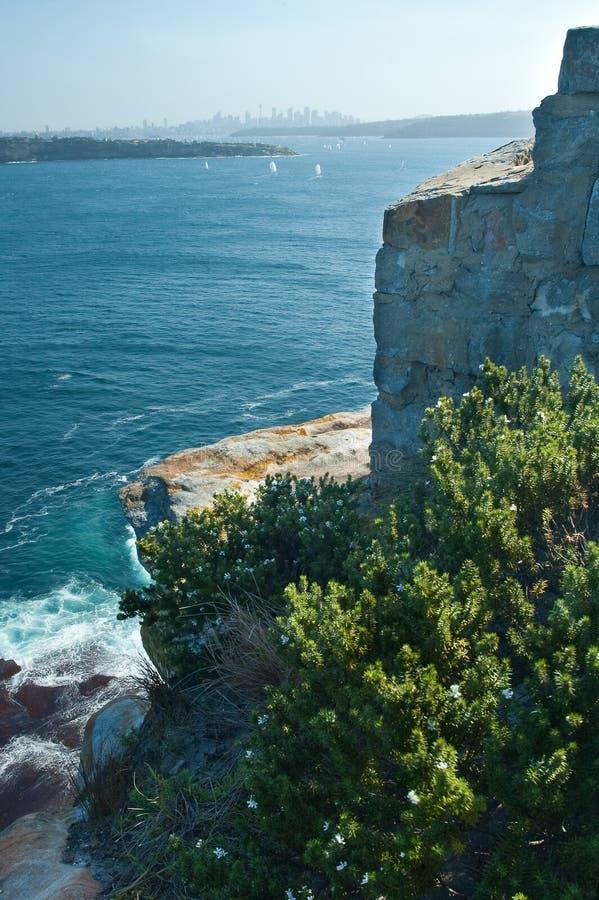 Sydney nella distanza immagine stock libera da diritti