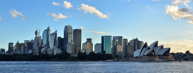 Sydney, NSW, horizon d'Australie et paysage urbain images stock