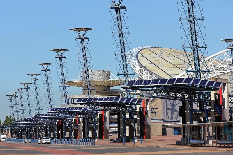 Sydney Olympic Park Boulevard royalty free stock images