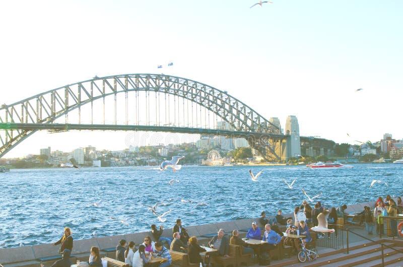Sydney Opera Bar, Australia fotos de archivo