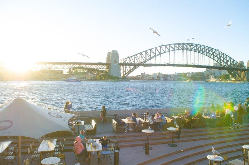 Sydney Opera Bar, Australia imagenes de archivo