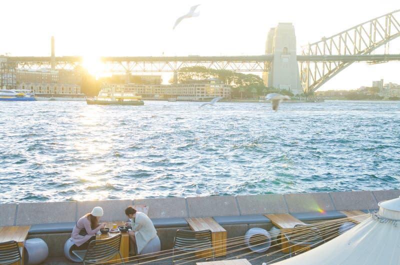 Sydney Opera Bar, Australia stock images
