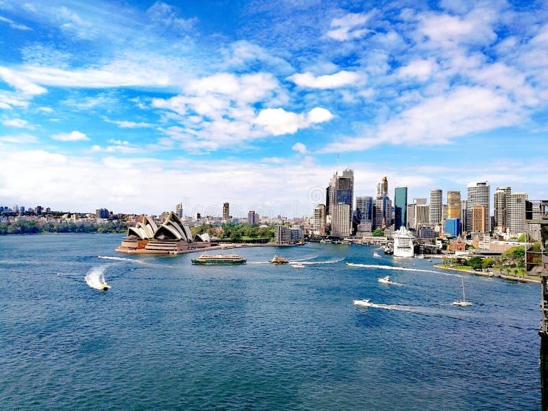 Sydney Opera House arkivbilder