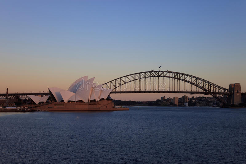Download Sydney Opera House editorial stock image. Image of dawn - 17719044