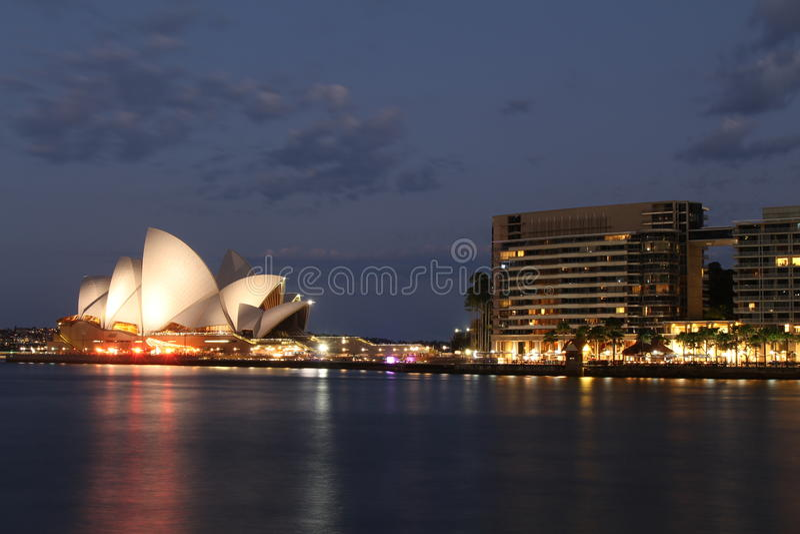 Sydney Opera House royalty-vrije stock afbeeldingen