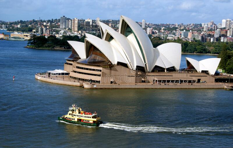 Sydney Opera House fotos de stock