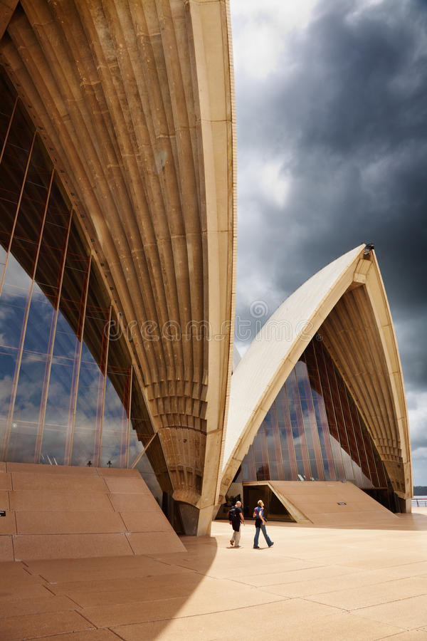 Sydney Opera House. Closeup, Australia