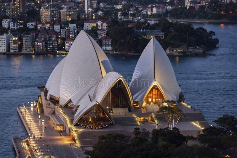 Sydney Opera House - Sydney - Austrália fotos de stock