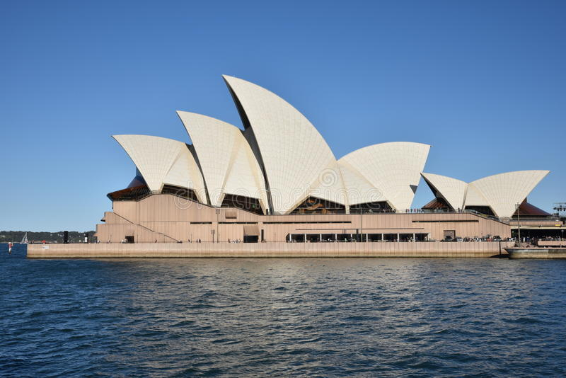 Sydney Opera House, AUSTRALIE photo stock