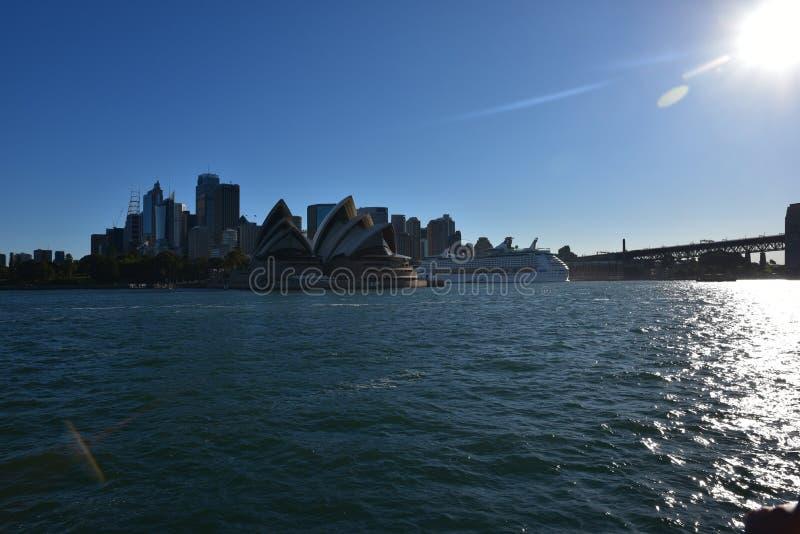 Sydney Opera House, AUSTRALIE image libre de droits