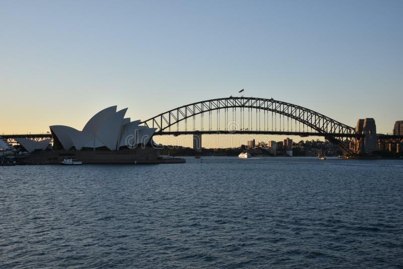 Sydney Opera House, AUSTRALIE images libres de droits