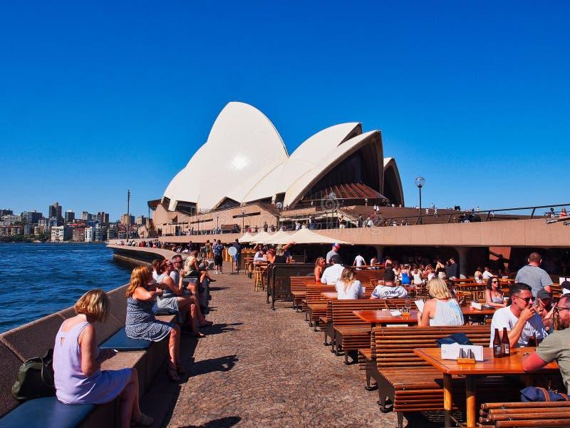 Sydney Opera House, Bennelong-Punt, NSW, Australië royalty-vrije stock fotografie