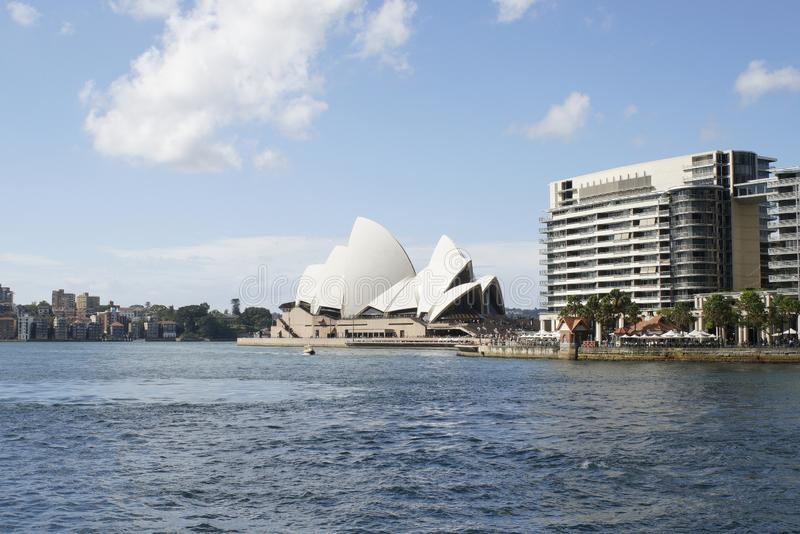 Sydney Opera House, Circular Quay, Sydney, NSW, Australia fotos de archivo