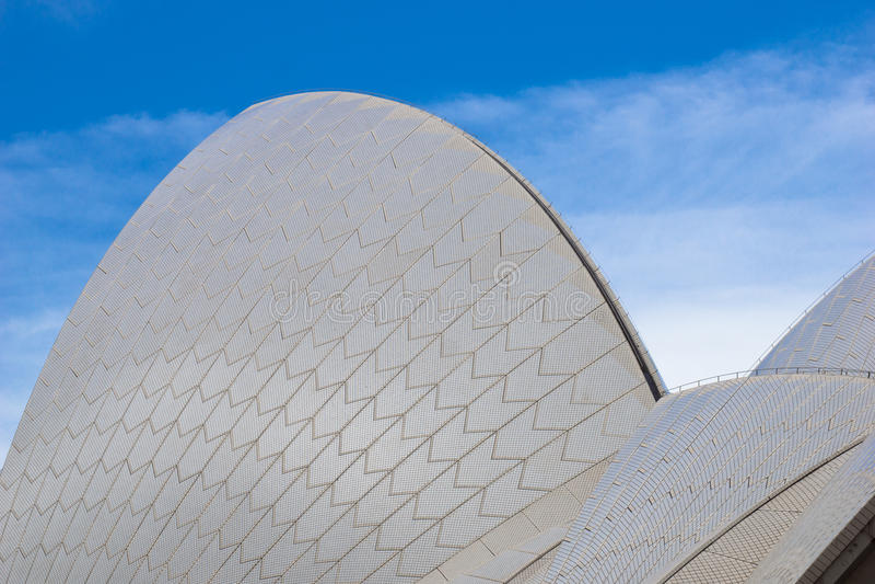 Sydney Opera House - dettaglio fotografia stock