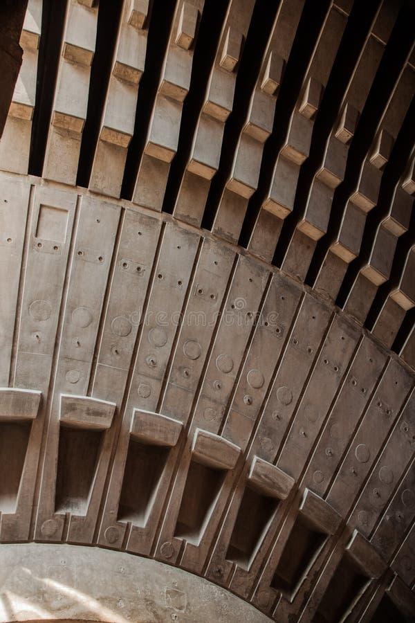 Sydney Opera House Interior Struts fotos de archivo libres de regalías