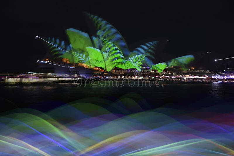 The Sydney Opera House_4292_jpg. The Sydney Opera House is a multi-venue performing arts centre in Sydney, New South Wales, Australia. It sits on Bennelong Point royalty free stock photography