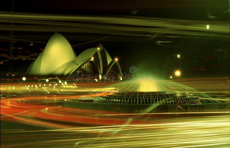 Sydney Opera House at night_jpg. Sydney Opera House at nightrn stock image