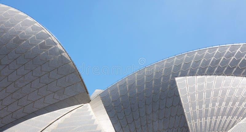 Sydney Opera House Roof imagen de archivo