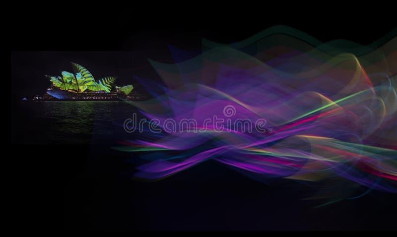 The Sydney Opera House_4260s_jpg. Sydney Opera House at night, NSW Australia royalty free stock photography