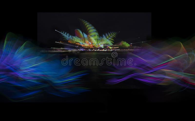The Sydney Opera House_4291s_jpg. Sydney Opera House at night, NSW Australia stock photos